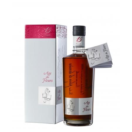 Age des Fleurs 15 Carats - Cognac Leopold Gourmel