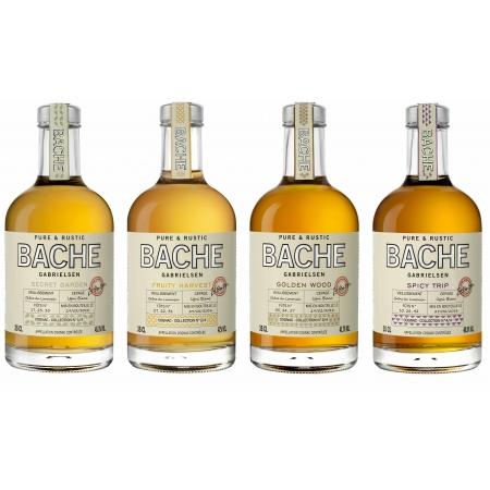4 x Pure & Rustic - Cognac Bache Gabrielsen