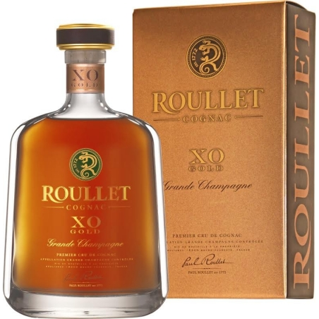 XO Gold Grande Champagne Cognac Roullet