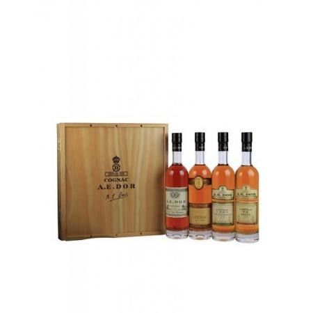 Assortment Wooden Box N°2 Cognac A.E Dor