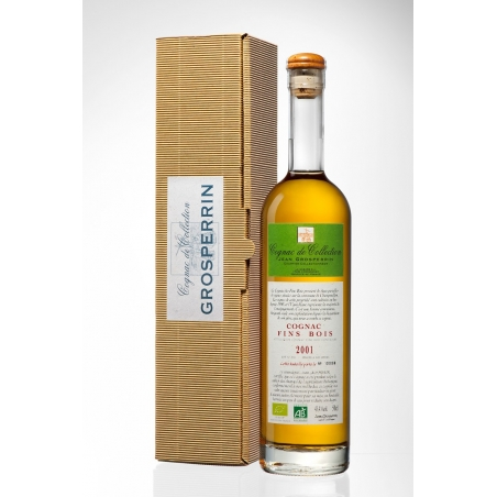 2001 Fins Bois Organic Cognac Grosperrin