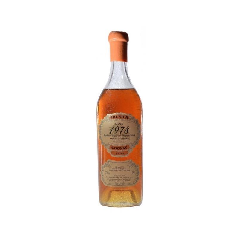 1978 Grande Champagne Cognac Prunier