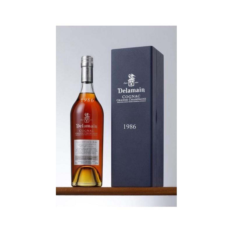 1986 Grande Champagne Cognac Delamain