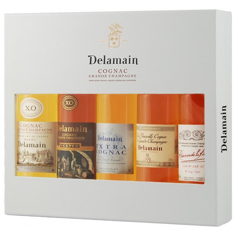 Coffret Collection Cognac Delamain
