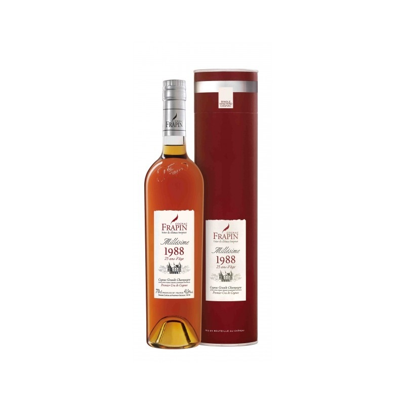 1988 - 25 ans - Cognac Château de Fonpinot