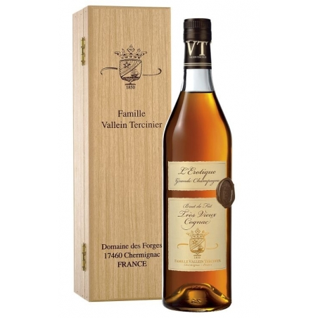 Cognac L'Erotique Lot 69 Grande Champagne Vallein Tercinier