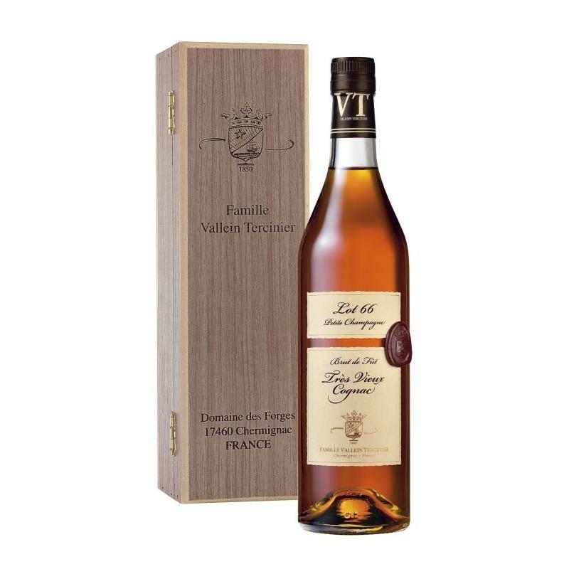 Cognac Lot 66 Petite Champagne Vallein Tercinier