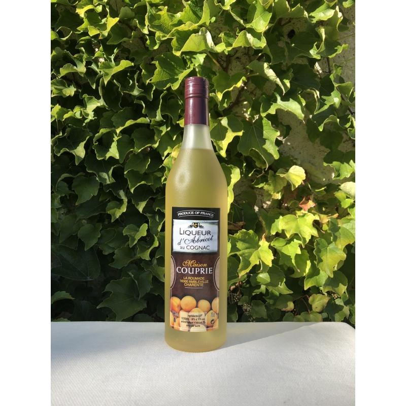 Cognac Couprie Apricot Liqueur with Cognac