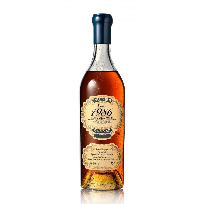 Millésime 1986 Cognac Prunier