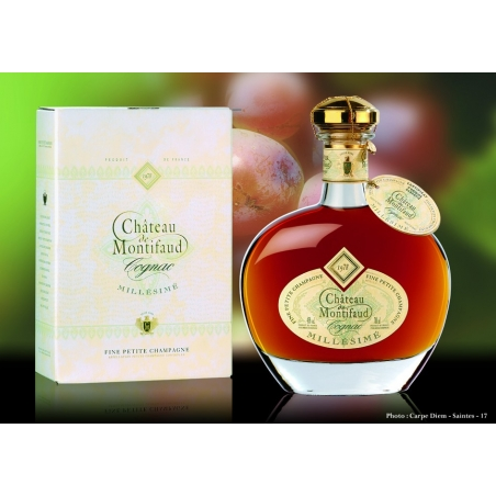 Millésime 1978 Hélios Cognac Château Montifaud