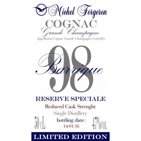 """Collection """"Barriques"""" Cognac Forgeron - Barrique 98"""