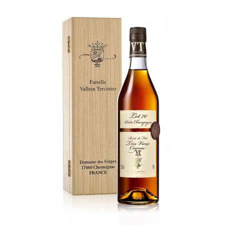 Cognac Lot 70 Fins Bois Vallein Tercinier