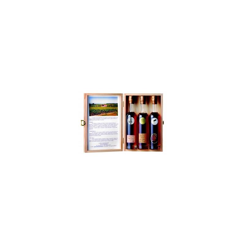 Coffret Dégustation Cognac Geffard
