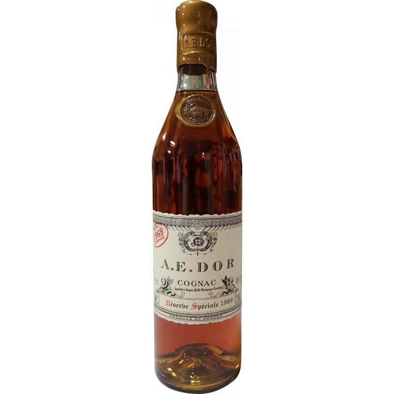 Millésime 1969 - Petite Champagne Cognac A.E. Dor