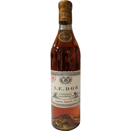 Millésime 1969 Petite Champagne Cognac A.E Dor