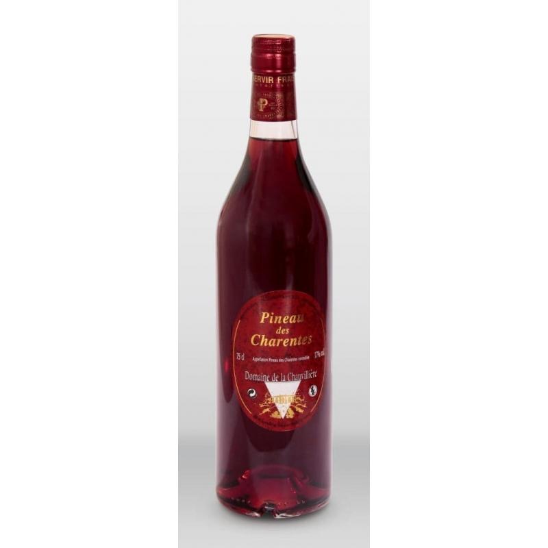 Pineau des Charentes Rouge Cognac Domaine de la Chauvilliere