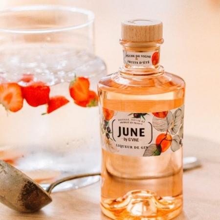 June  By G'Vine Liqueur de Gin-Pêche