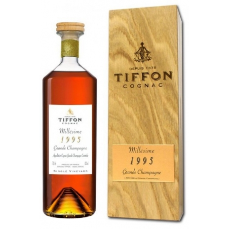 Millesime 1995 Grande Champagne Cognac Tiffon