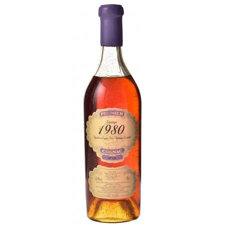1980 Petite Champagne Cognac Prunier