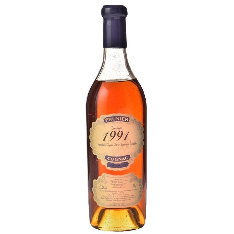 1991 Petite Champagne Cognac Prunier