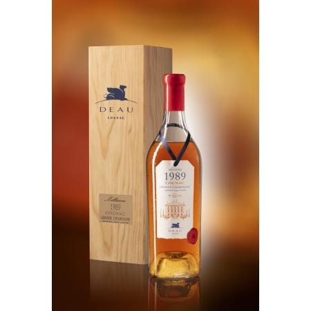 Vintage 1989 Grande Champagne Cognac Deau