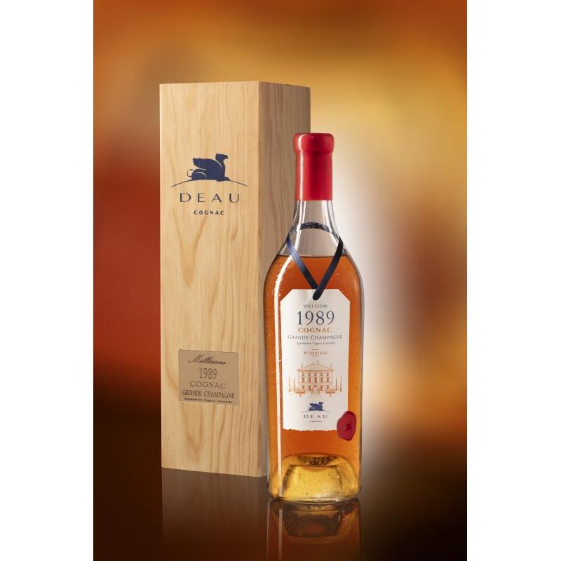Millesime 1989 Grande Champagne Cognac Deau