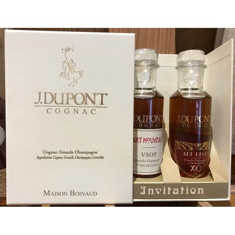 Coffret Invitation J.Dupont Cognac