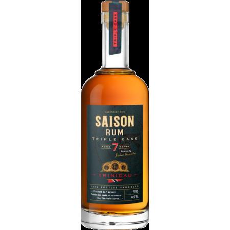 Triple Cask Rum  Saison Trinidad 7 ans