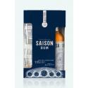 Box Saison Rum + 2 glasses