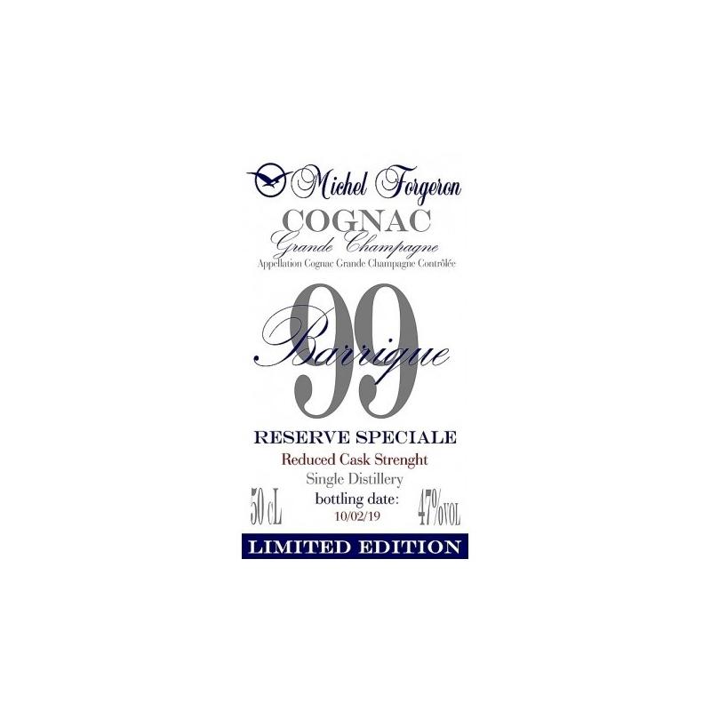 """Collection """"Barriques"""" Cognac Forgeron - Barrique 99"""