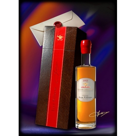 1953 Grande Champagne Cognac Jean Fillioux 35cl