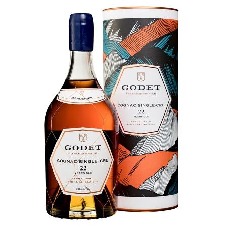 22 years Grande Champagne Cognac Godet