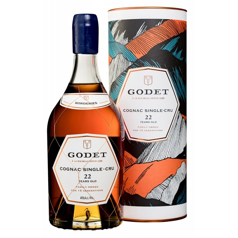 22 ans Borderies Cognac Godet