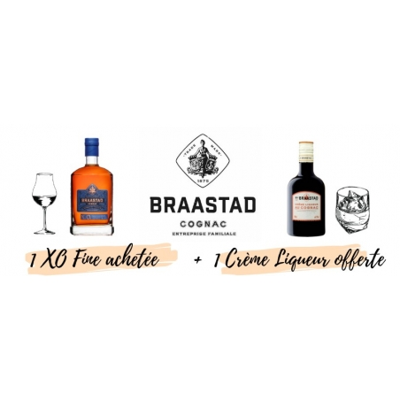 XO Fine Champagne + Cream of Cognac - Braastad