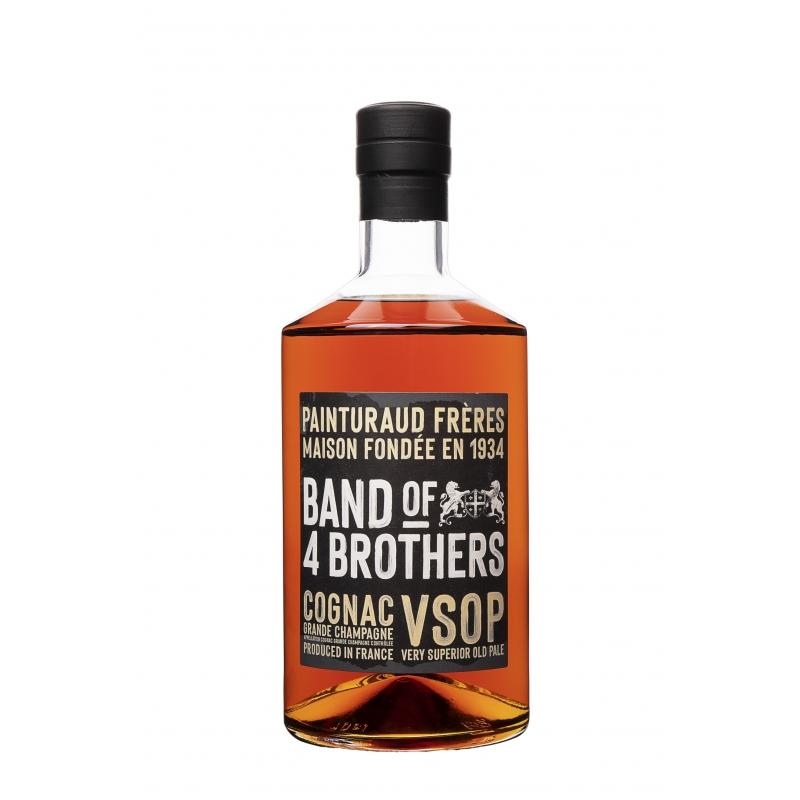 """Band of 4 brothers"" VSOP Cognac Painturaud"