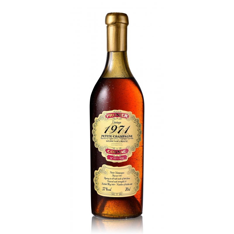 1971 Petite Champagne Cognac Prunier