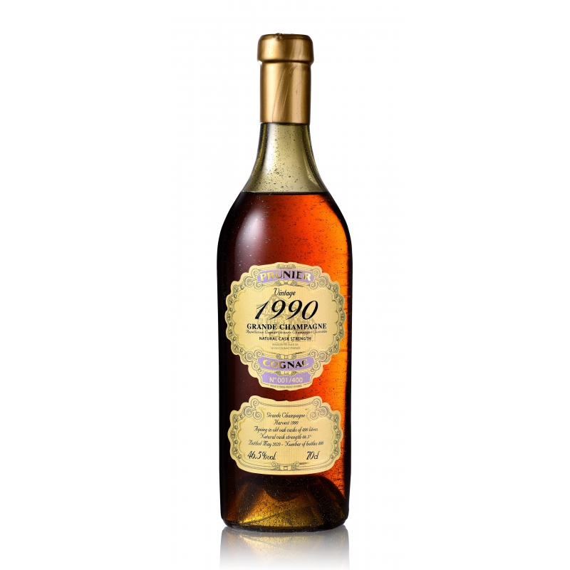 1990 Grande Champagne Cognac Prunier