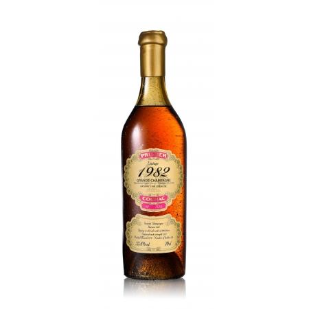 1982 Grande Champagne Cognac Prunier