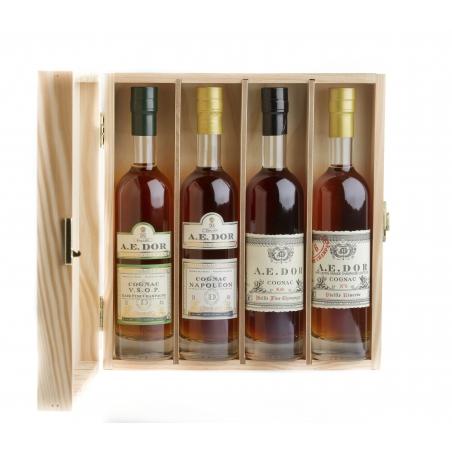 Assortment Wooden Box N°3 Cognac A.E Dor