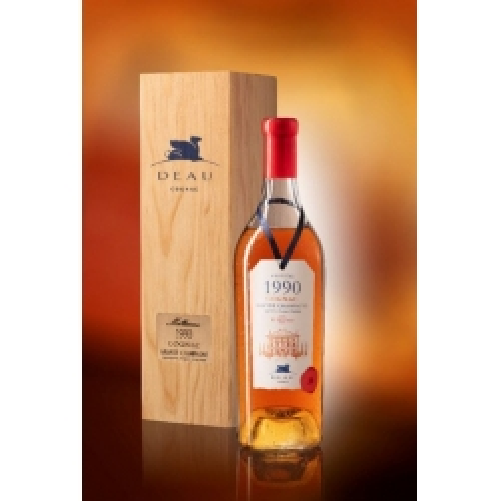 Millesime 1990 Grande Champagne Cognac Deau