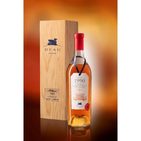 Vintage 1990 Grande Champagne Cognac Deau