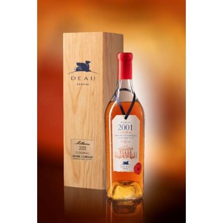Vintage 2001 Grande Champagne Cognac Deau