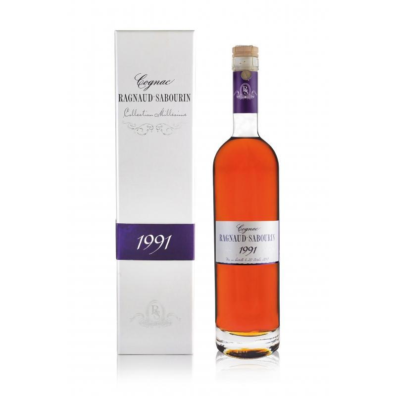 Millésime 1991 Cognac Ragnaud Sabourin