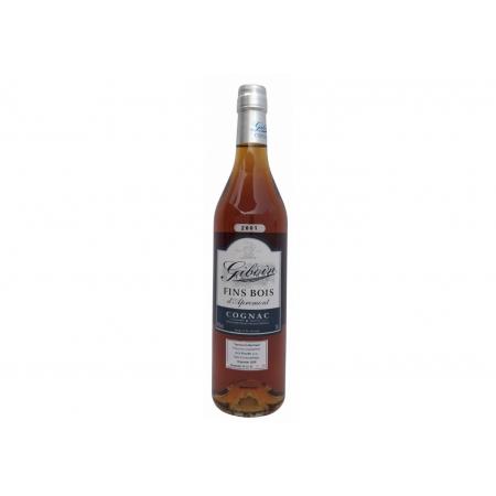 Vintage 2001 Fins Bois d'Apremont Cognac Giboin