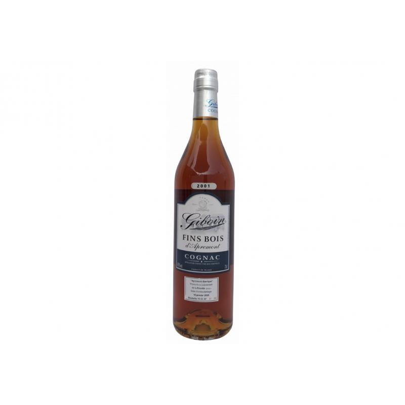 Millesime 2001Fins Bois d'Apremont Cognac Giboin