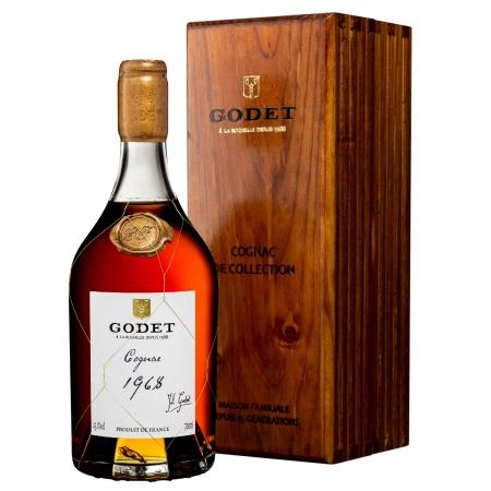 Millesime 1968 Fins Bois Cognac Godet