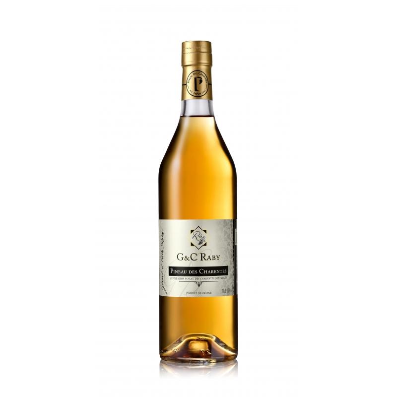 Pineau des Charentes Blanc Cognac G et C Raby
