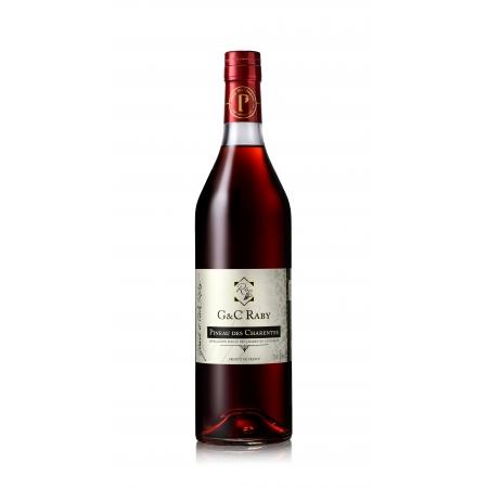 Pineau des Charentes Rouge Cognac G et C Raby