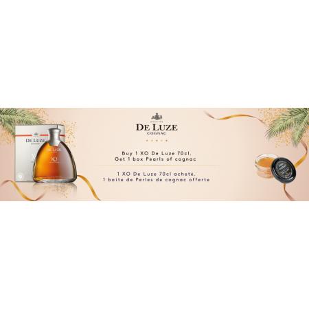 XO Fine Champagne + Perles de Cognac Cognac De Luze