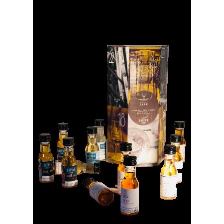 """Coffret Dégustation """"Calendrier de l'Avent"""" 12 miniatures Cognac Park"""